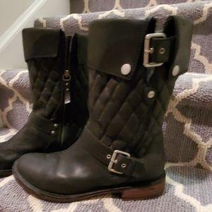 UGG Leather Biker Boots